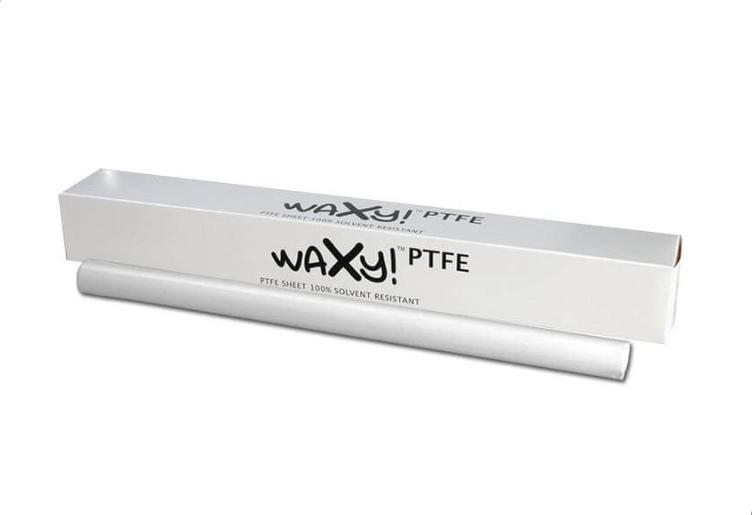 Rückstandslos Extrahieren mittels PTFE Folie von Waxy!